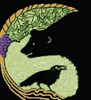 crow and bear logo